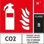 PLAQUE CO2 CLASSE B