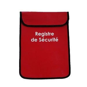 REGISTRE DE SECURITE - HOUSSE